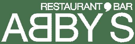 Abbys Logo White